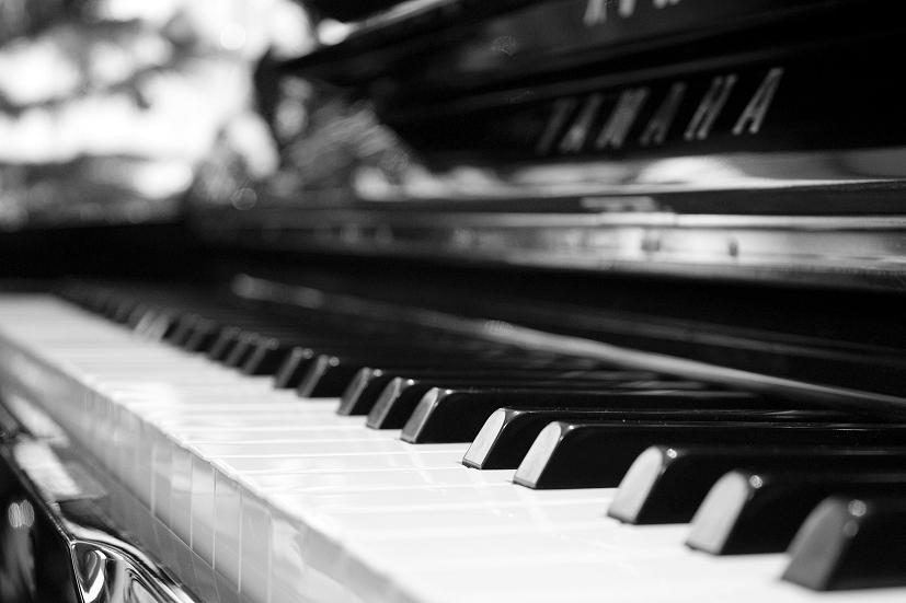 As teclas de um piano: a música no Reiki deve ser suave e melódica | Foto: Michael Schrempp/Creative Commons