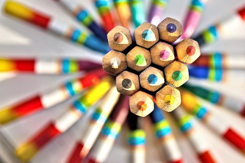Lápis de cor: cada cor encerra em si uma vibração e um significado | Foto: David Blaikie/Creative Commons