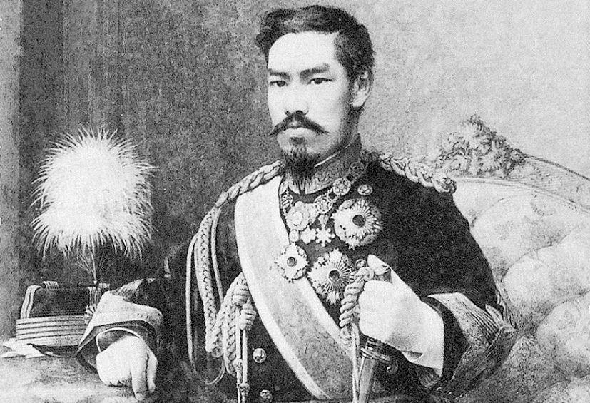 Meiji Tennō: o imperador do Japão tornou o país numa das grandes potências mundiais | Foto: Web