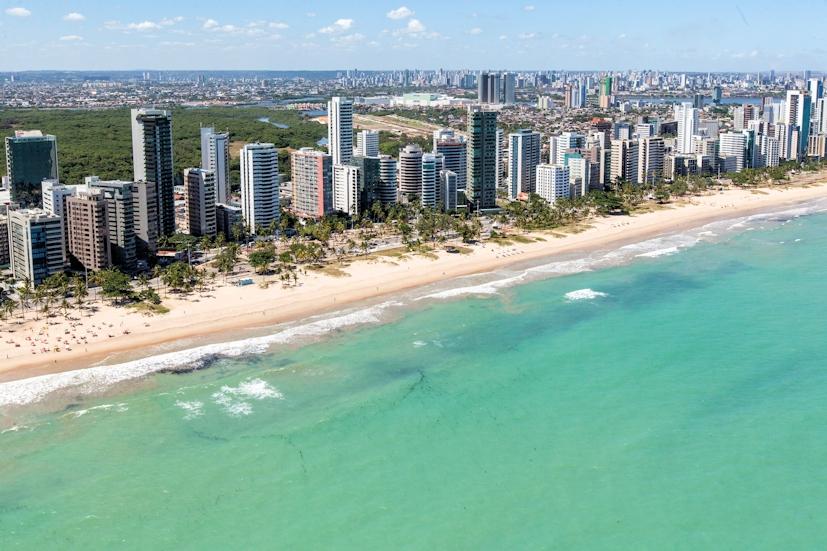 Praia do Pina, em Recife: o Reiki vai passar a ser oferecido aos utentes da rede de saúde da cidade | Foto: Portal da Copa/ME