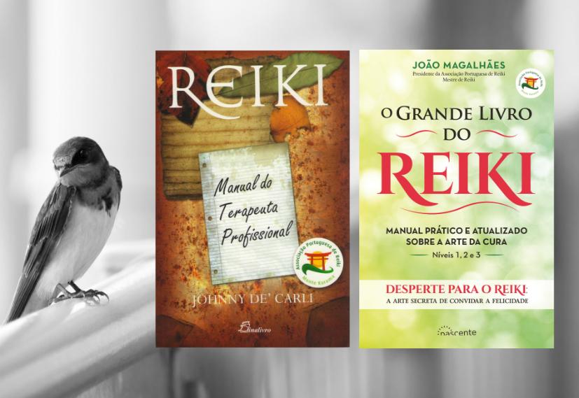Manuais de referência: Reiki - Manual do Terapeuta Profissional e O Grande Livro do Reiki| Foto: t-mizo/Creative Commons